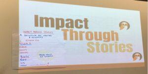 Impact through stories